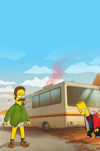 Breaking Bad Simspon