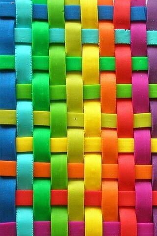 خطوط ملونة