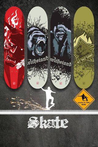 Skate Shelf