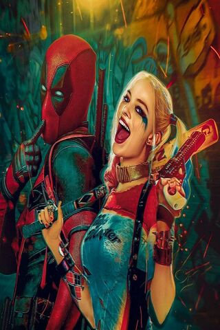 Deadpool Harley