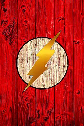 Logo Flash doré