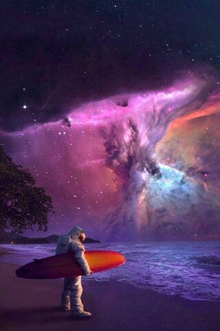 Himmel-Surfen