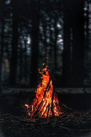 Tapeta Fire Hdr