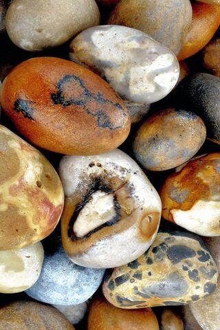 Des pierres
