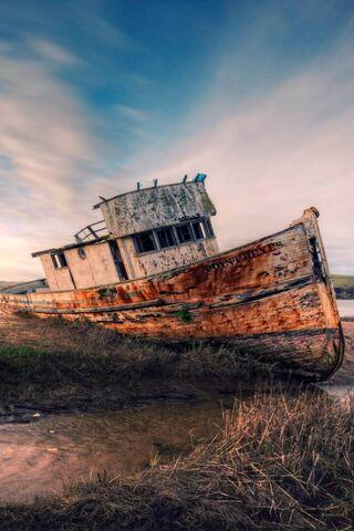 Một chiếc thuyền bị mất