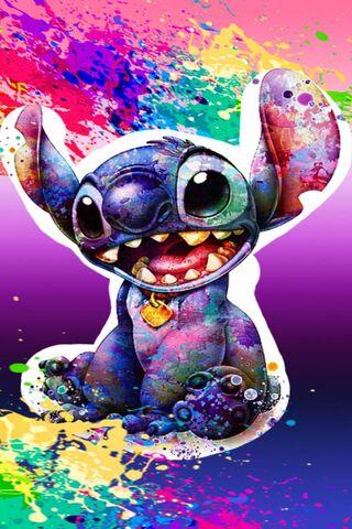 Stitch Splash Color