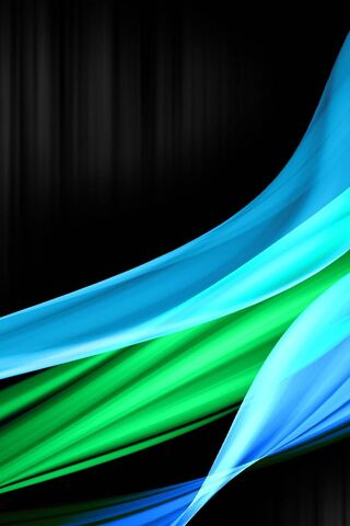 Niebieski i zielony