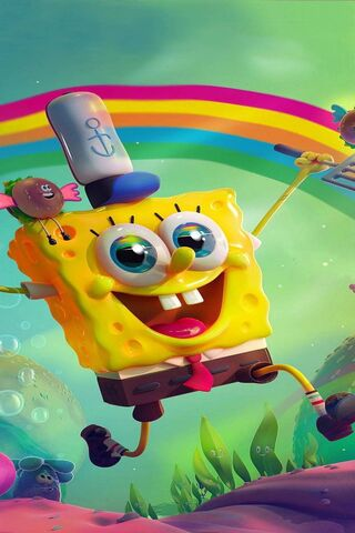 Happy Spongebob