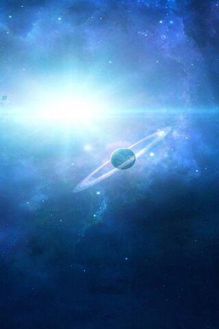 Weltraum-Planet