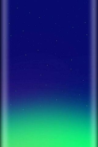 एस 10 निळा हिरवा