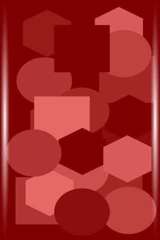Czerwone linie abstrakcyjne
