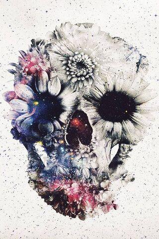 फूल की खोपड़ी