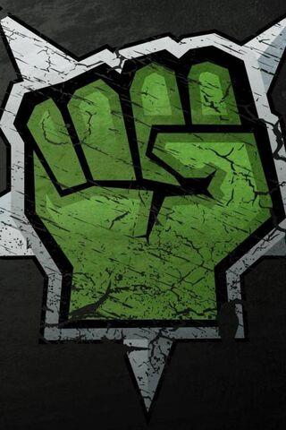 Graffiti Hand Green