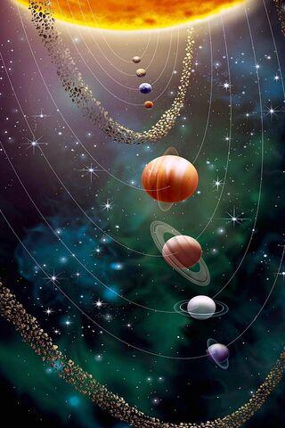 Шпалери Космос