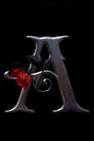 Lettre a rose