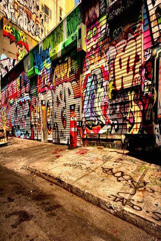 Graffiti der Straßen-3D