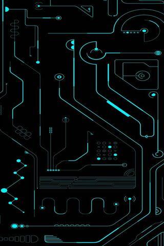 Circuit vert bleu
