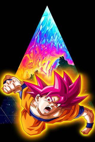 Goku Dieu Rouge