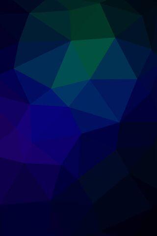 Zielone Niebieskie Trójkąty