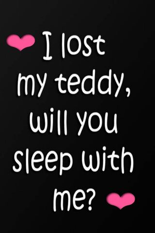 I Lost My Teddy