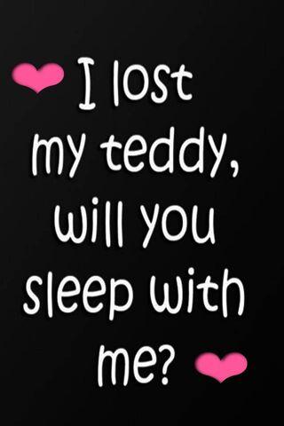 Tôi quên Teddy của tôi