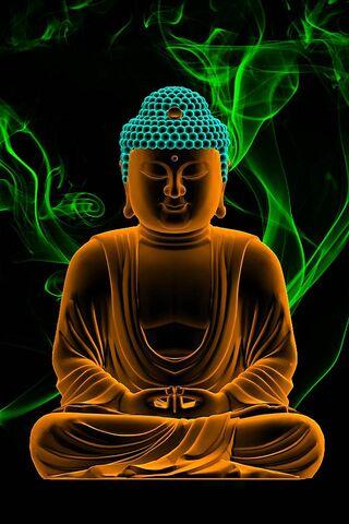 Budha In Neon
