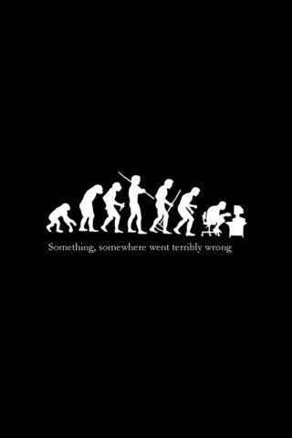 Wrong Evolution