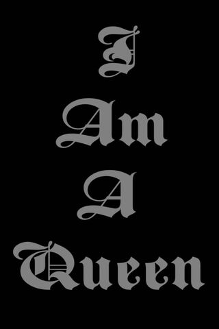 Tôi là một nữ hoàng
