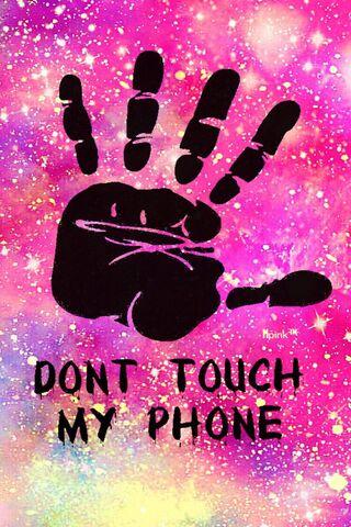 Phoneky الأكثر تحميلا Don T Touch Iphone Hd خلفيات