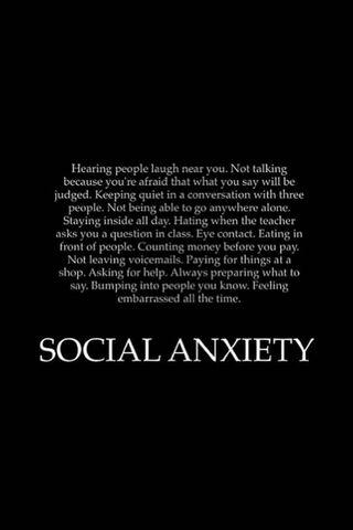 Sosyal anksiyete