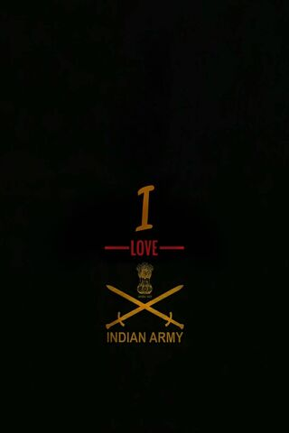 Eu amo o exército indiano