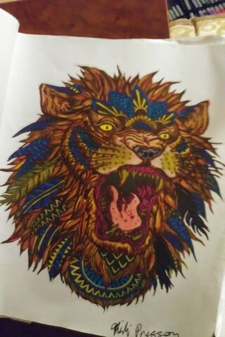 Tribal Roaring Lion