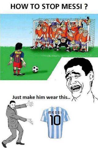Messi aufhalten