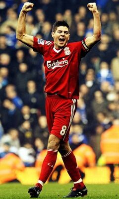 Steven Gerrard Wallpaper Download To Your Mobile From Phoneky