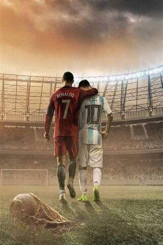 Messi Ronaldo C7