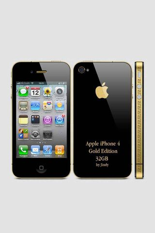 Iphone 4 Gold