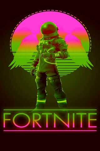 Neon Fortnite Wallpaper Download To Your Mobile From Phoneky