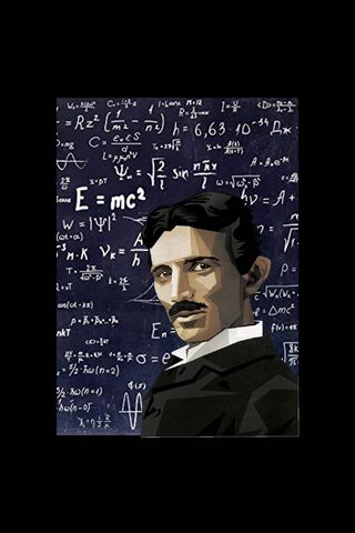 Nikola Tesla Wallpaper Download To Your Mobile From Phoneky
