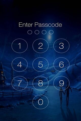 Passcode Screen