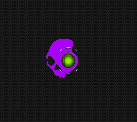 Droid Eye Scull Wallpaper Download To Your Mobile From Phoneky