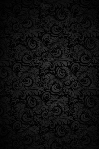 Black Curved Bloom