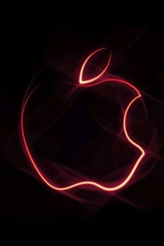 Neon Red Apple