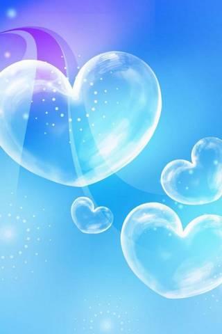 Blue Bubble Love
