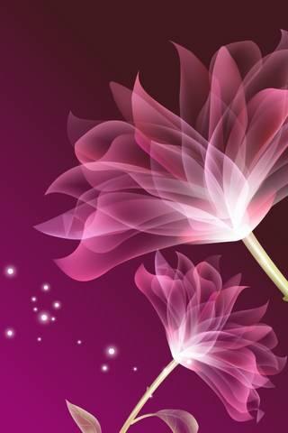 Glas* Flower Pink