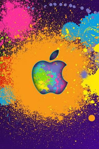Color Splash Apple
