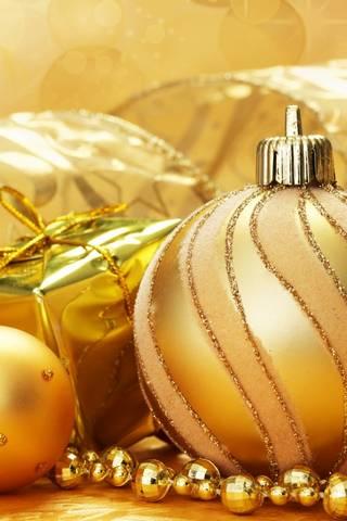 عيد الميلاد الذهب