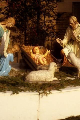 كهف عيد الميلاد